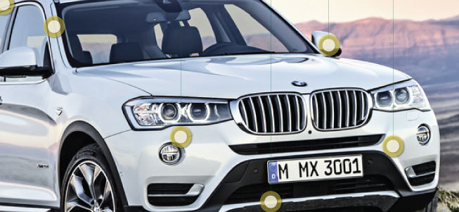 Automotive Paint Companies BMW X3