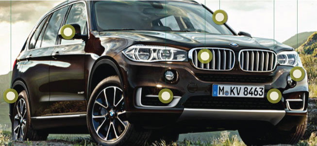 Automotive Paint Companies BMW X5 F15
